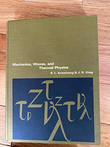 9780135718100: Mechanics, Waves and Thermal Physics