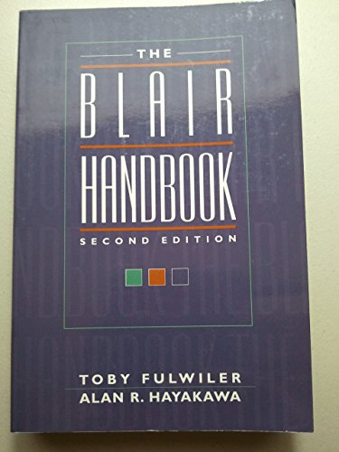 9780135721735: Blair Handbook, The