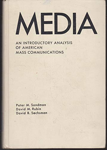 9780135724200: Media: An Introductory Analysis of American Mass Communications