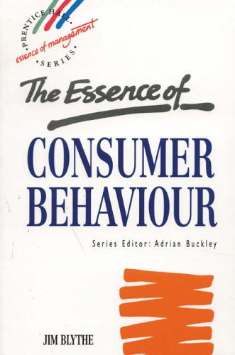 9780135731222: The Essence of Consumer Behaviour (Essence of Management: Prentice Hall Series)