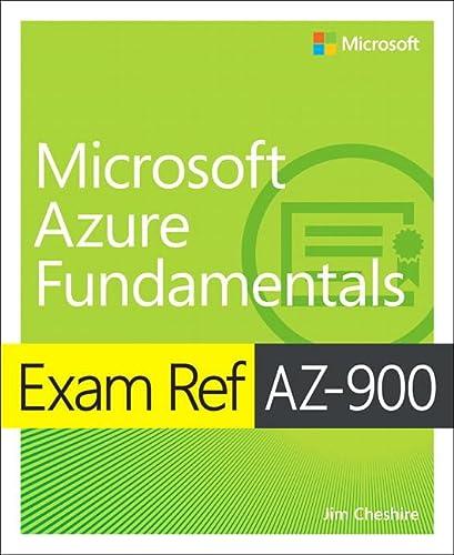 9780135732182: Exam Ref AZ-900 Microsoft Azure Fundamentals
