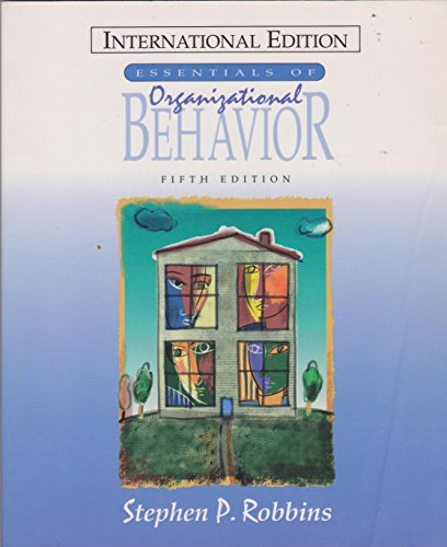 9780135734520: The Essentials of Organizational Behaviour (Prentice Hall international editions)