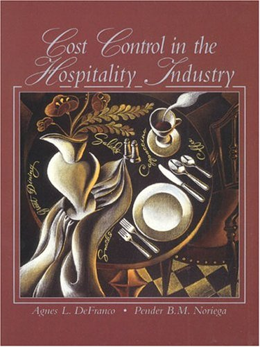 Cost Control in the Hospitality Industry: Defranco, Agnes L.