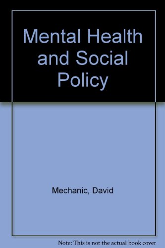 9780135760253: Mental health and social policy