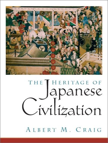 9780135766125: The Heritage of Japanese Civilization