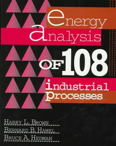 9780135769928: Energy Analysis of 108 Industrial Processes