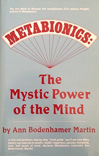 9780135776018: Metabionics: The Mystic Power of the Mind