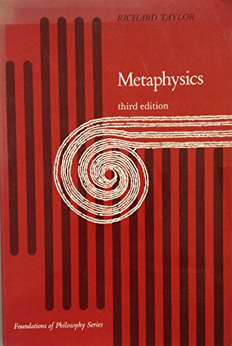 9780135784501: Metaphysics (Prentice-Hall foundations of philosophy series)
