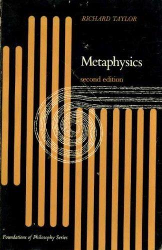 9780135784686: Metaphysics (Prentice-Hall foundations of philosophy series)