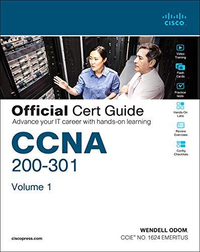 9780135792735: Odom, W: CCNA 200-301 Official Cert Guide, Volume 1/e