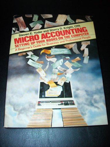 9780135800935: Micro-accounting: Setting up your books on the computer