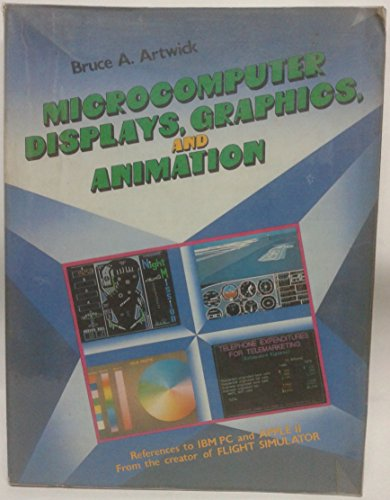 9780135802267: Microcomputer Displays: Graphics and Animation