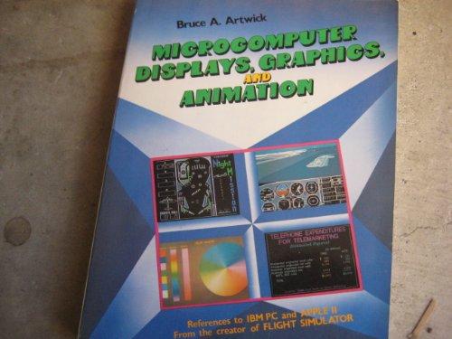 9780135802267: Microcomputer Displays, Graphics and Animation