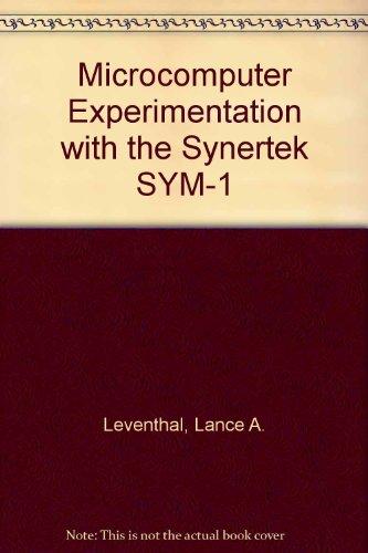 9780135809105: Microcomputer Experimentation With the Synertek Sym-1