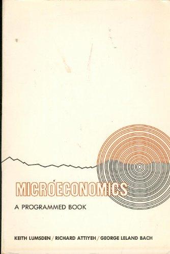 9780135814215: Microeconomics: A Programmed Book