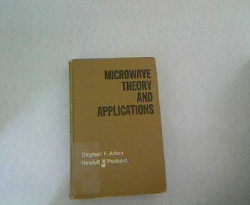 9780135814888: Microwave Theory and Applications