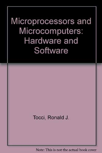 9780135817605: Microprocessors and Microcomputers: Hardware and Software