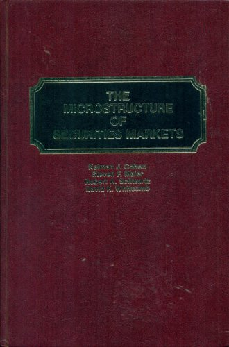 9780135817940: The Microstructure of Securities Markets