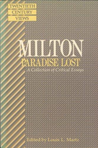 9780135831380: Milton - Paradise Lost: A Collection of Critical Essays (Spectrum Books)