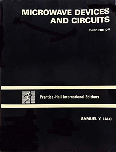 9780135846810: Microwave Devices and Circuits