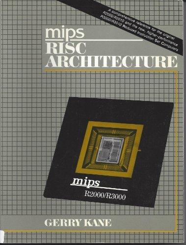 9780135847497: MIPS R2000 RISC architecture