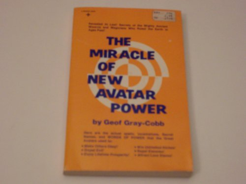 9780135853641: Miracle of New Avatar Power
