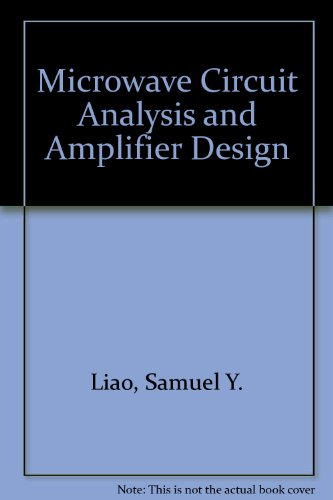 9780135867365: Microwave Circuit Analysis and Amplifier Design