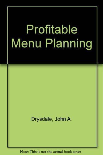 9780135878330: Profitable Menu Planning