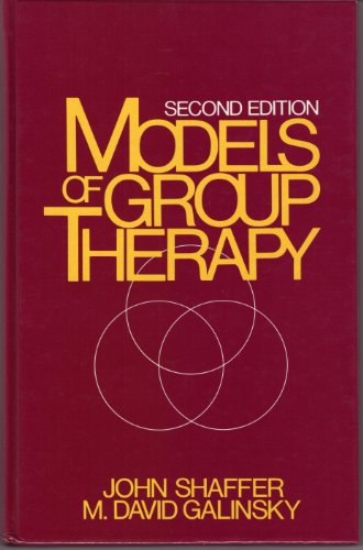 9780135879160: Models of Group Therapy