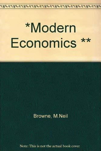9780135879320: *Modern Economics **