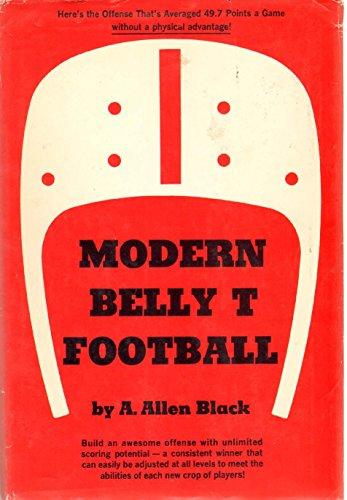 Modern Belly T Football: Black, A. Allen