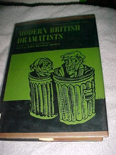 9780135880531: Modern British Dramatists: Collection of Critical Essays (20th Century Views)