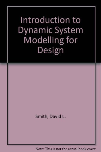 9780135883440: Introduction to Dynamic Systems Modeling for Design