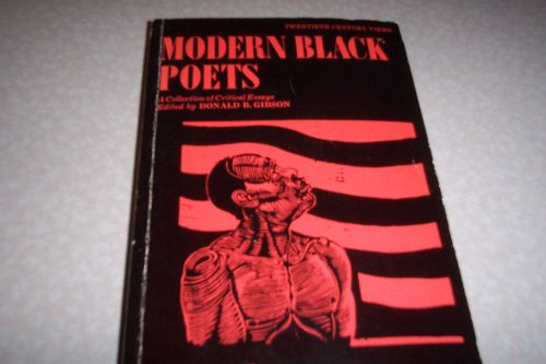 9780135883846: Modern Black Poets: A Collection of Critical Essays (20th Century Views)