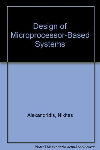 9780135885673: Design of Microprocessor-Based Systems