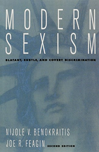 9780135886175: Modern Sexism: Blatant, Subtle, and Covert Discrimination (2nd Edition)