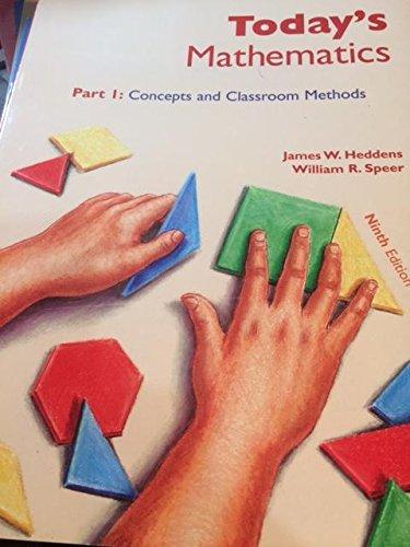Today's Mathematics: James W. Heddens,