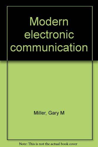 9780135892190: Modern electronic communication