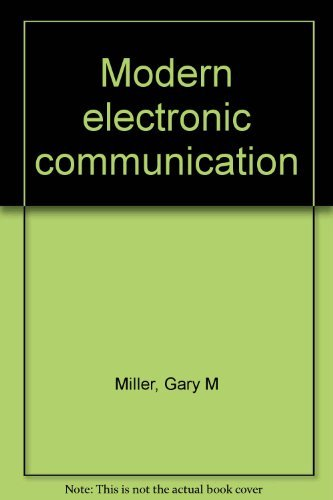 9780135892190: Modern electronic communication