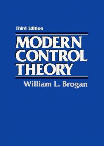 9780135897638: Modern Control Theory (3rd Edition)
