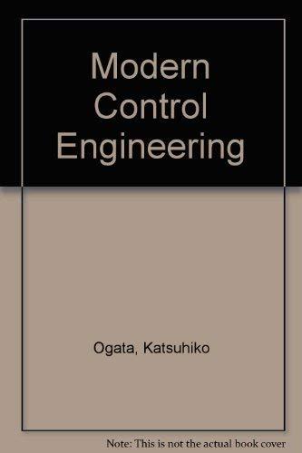 9780135902585: Modern Control Engineering