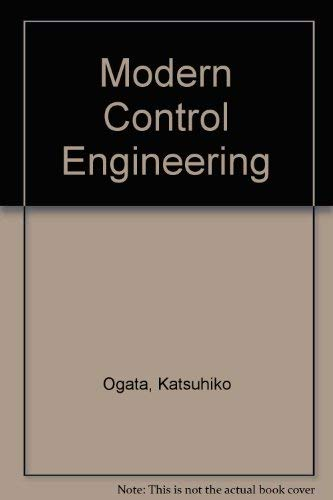 9780135902585: Modern Control Engineering (Prentice-Hall electrical engineering series. Instrumentation and controls series)