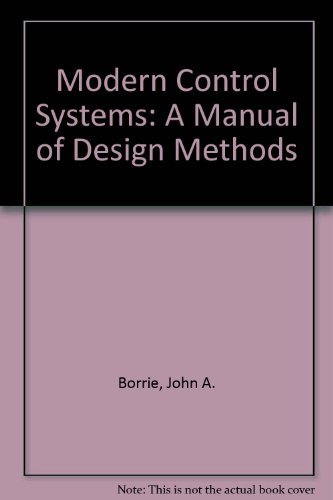 9780135902820: Modern Control Systems: A Manual of Design Methods