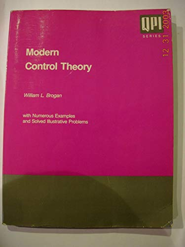 9780135903070: Modern Control Theory