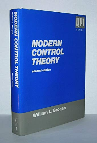 9780135903162: Modern Control Theory, 2nd Edition