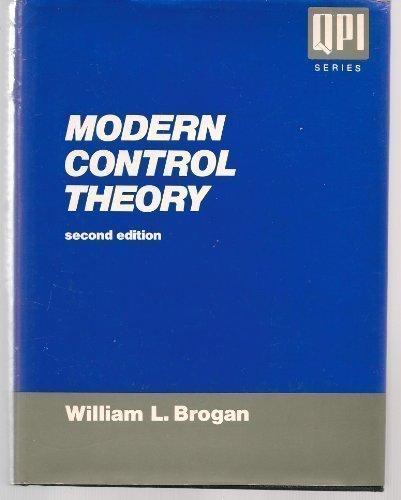 9780135903162: Modern Control Theory, 2nd Edition