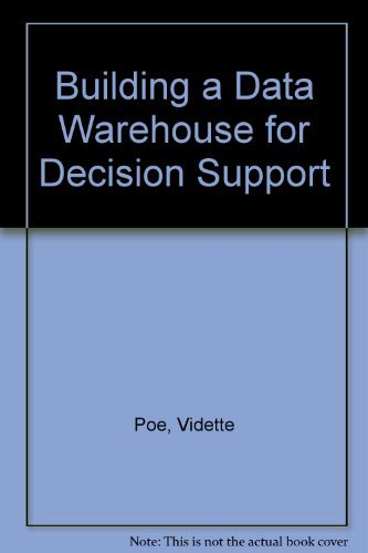 9780135906620: Building a Data Warehouse for Decision Support