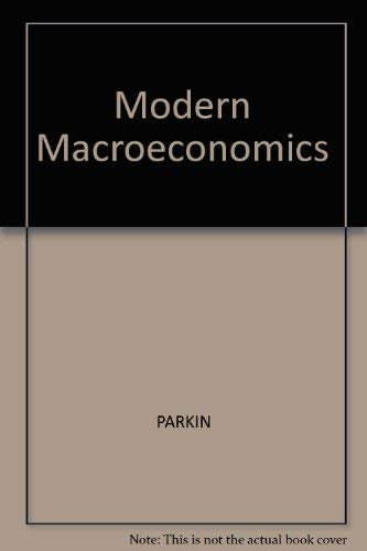9780135911402: Modern Macroeconomics