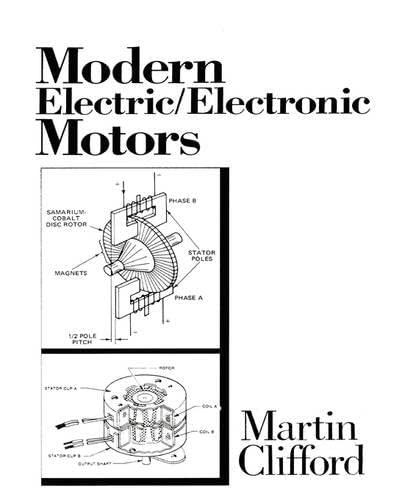 9780135933367: Modern Electric/Electronic Motors