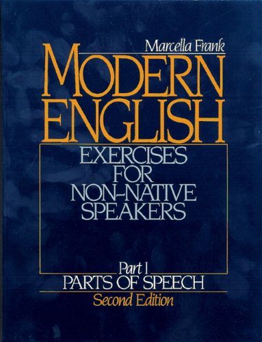 9780135938317: Modern English Exercises for Non-Native Speakers, Part 1: Parts of Speech, 2nd Edition